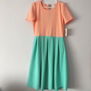 NWT LuLaRoe Amelia Swing Pocket Dress M